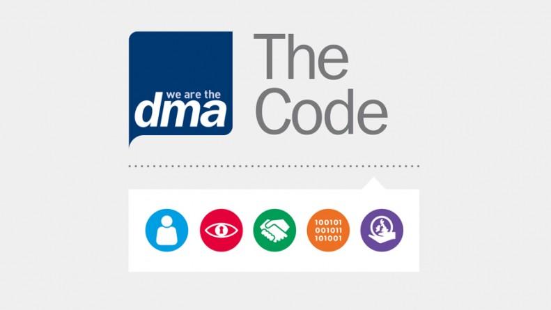 DMA The Code logo