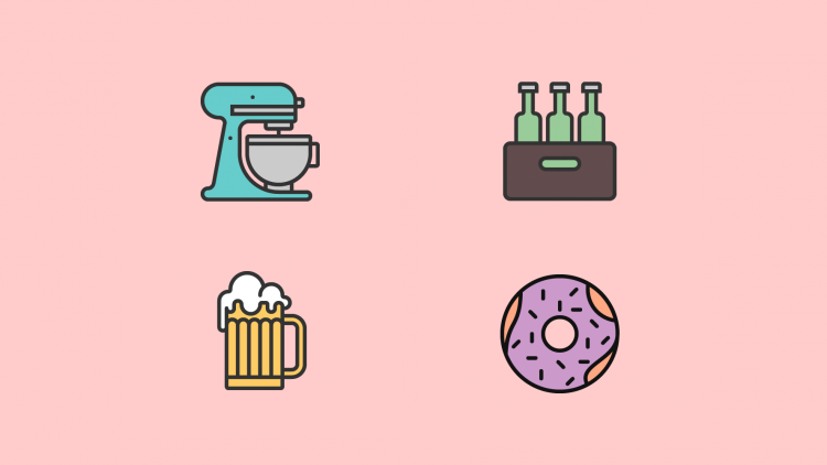playful icons