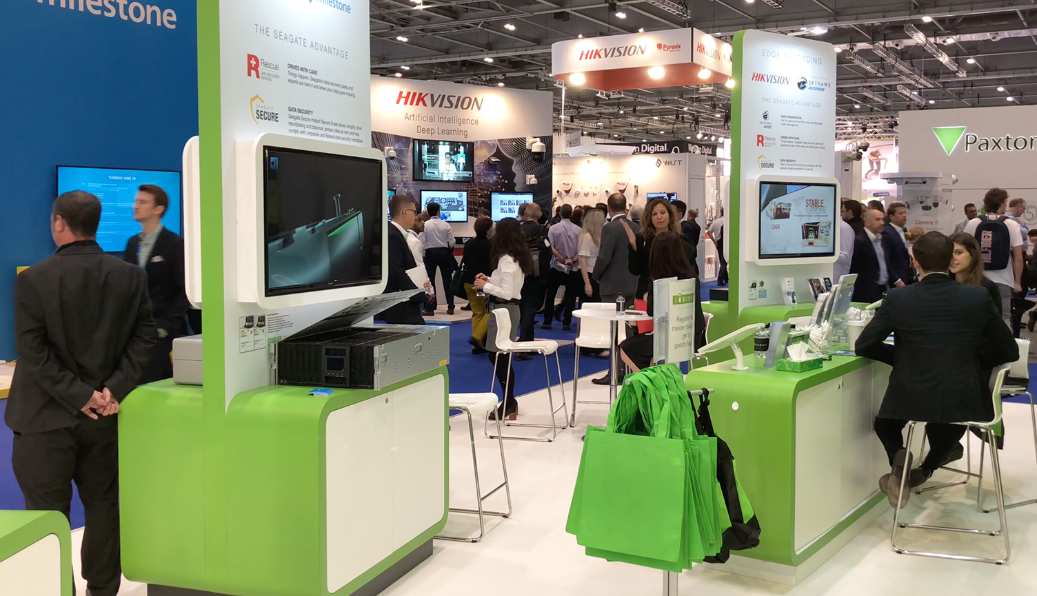 IFSEC 2018 and pain free video shooting 5