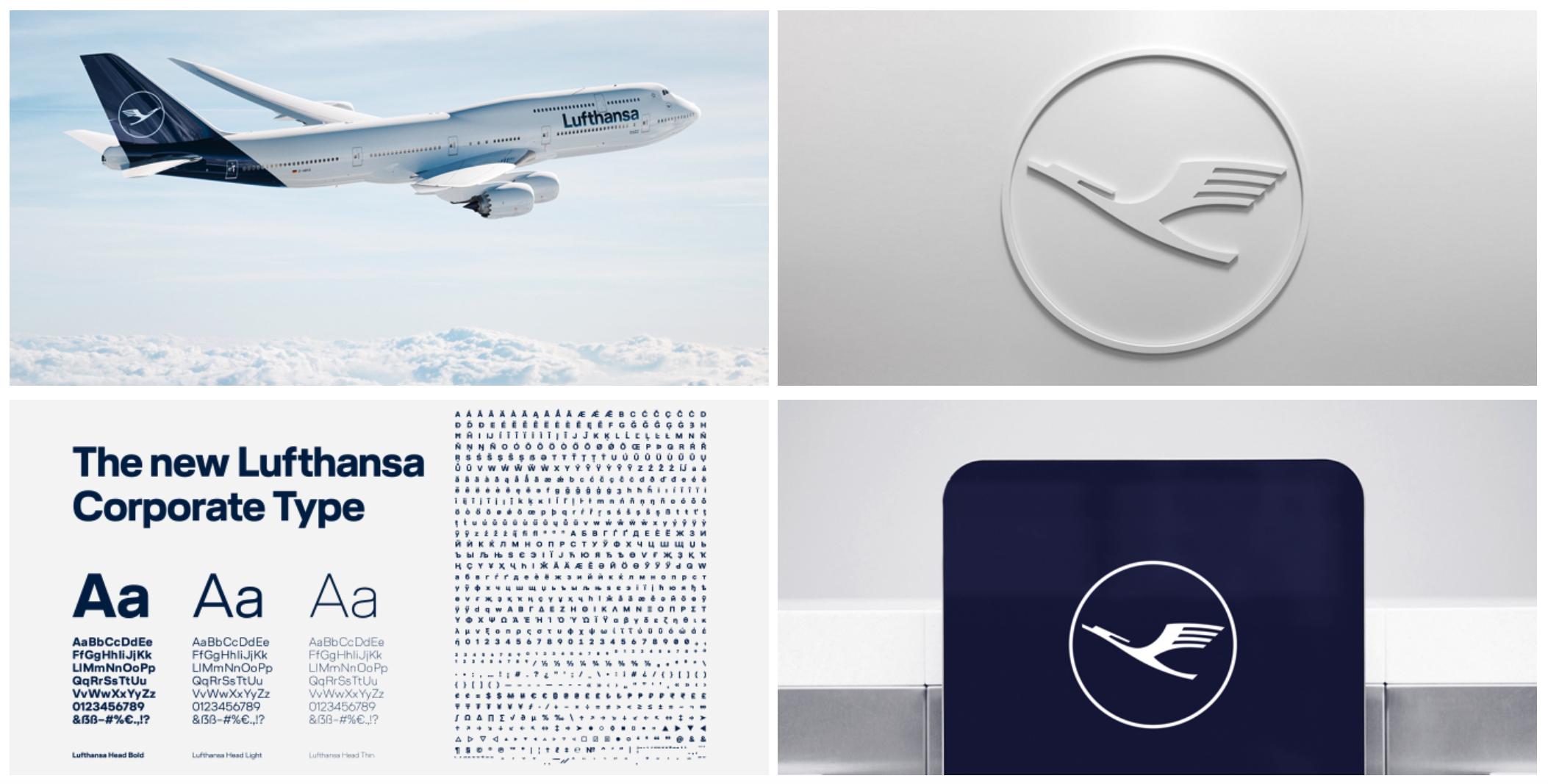 Lufthansa Branding