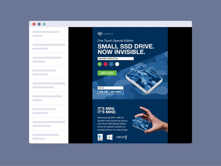 Interactive email campaign 1